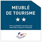 Meublé de tourisme 2*
