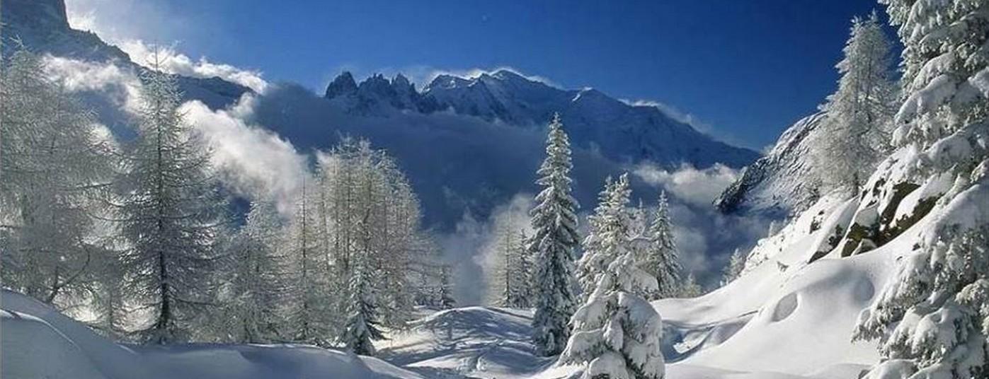 Randonnées au milieu <strong> d'un cocon de neige</strong>