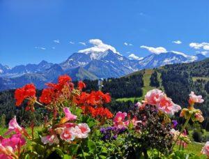 Le Mont Blanc Les Lieux